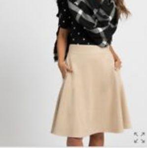 Agnes & dora faux suede skirt brand new